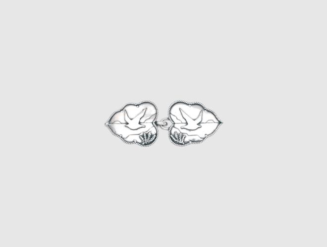 Capespenne, oksidert,Kystsølv