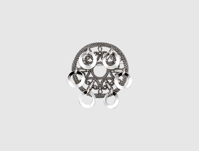 Sølje, oksidert m.symmetriske lauv