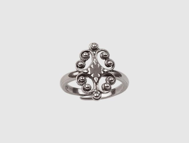 Nordmøre ring, oksidert