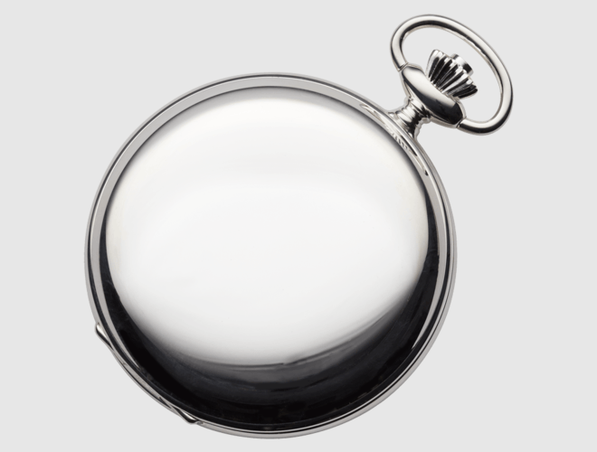 Lommeur herre, sølv