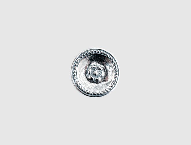 Knapp, oksidert, 16 mm