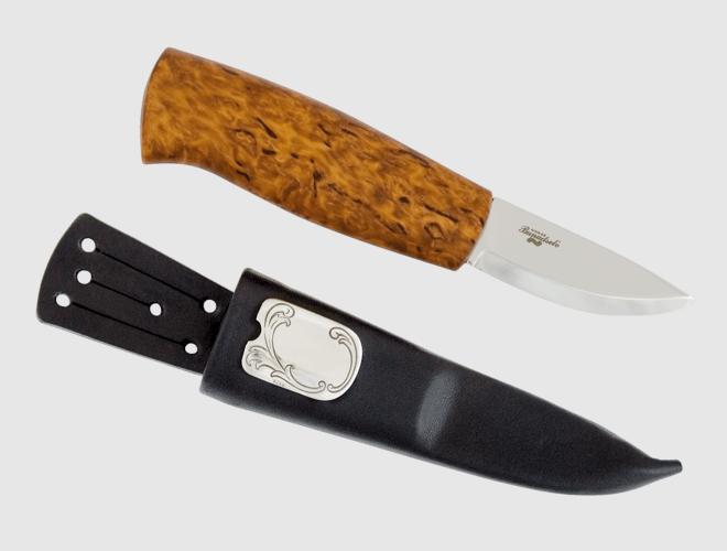Knerten, kniv m.grav.felt