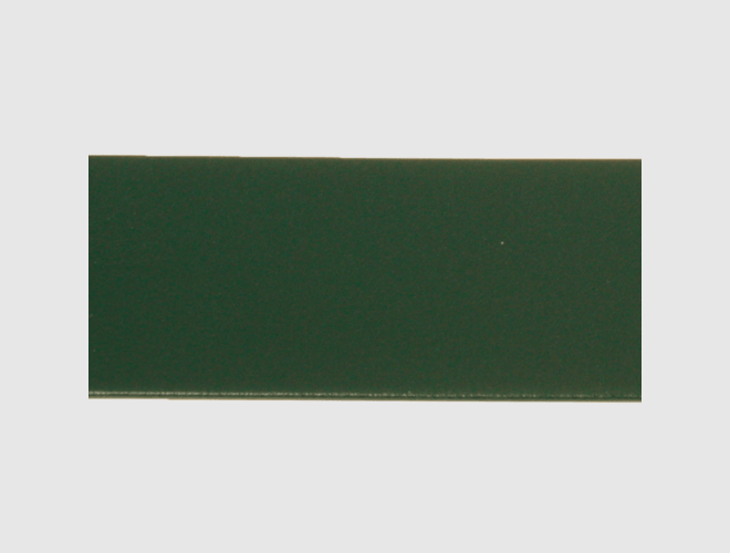 Skinnlist, 4 cm, grøn