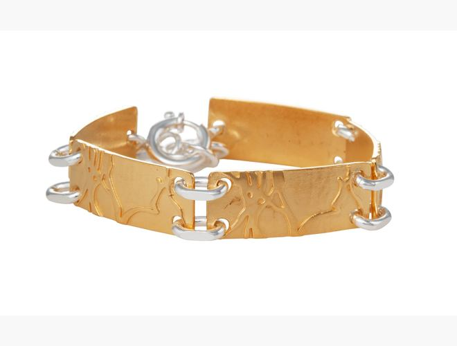 Armband, Bjørk, kvit/forg