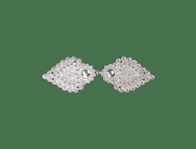 Cape/ jakkespenne Agder med syhol, kvit