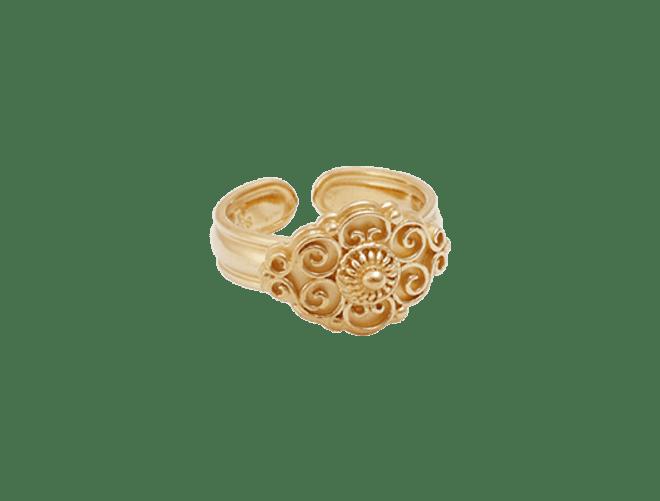 ring, forgylt