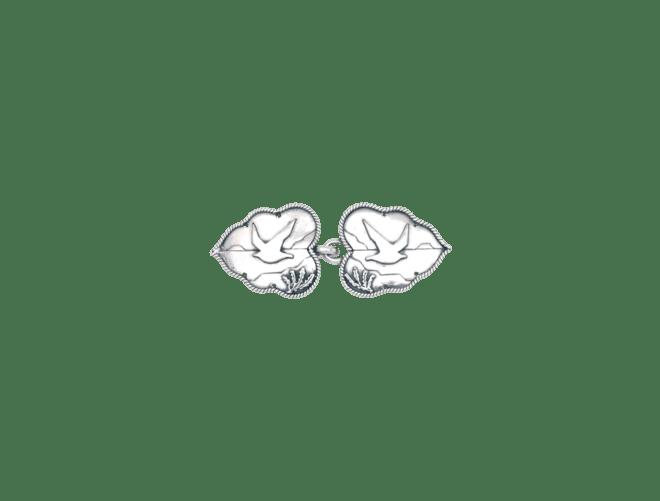 Kystsølv capespenne, oksidert