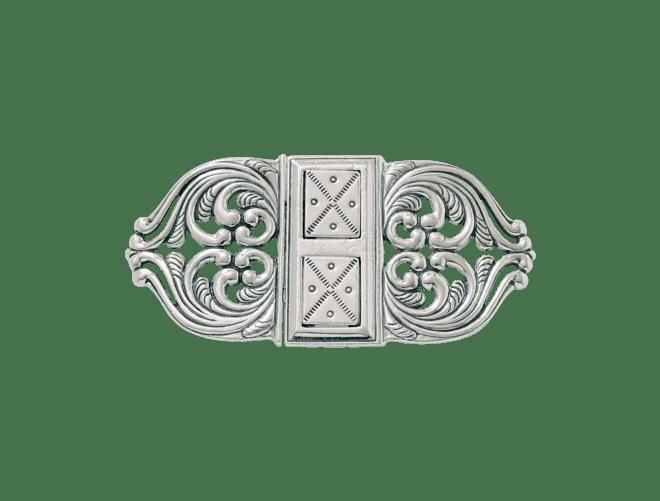 Sunnfjord spenne, sølv