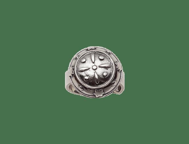 Troms ring, oksidert