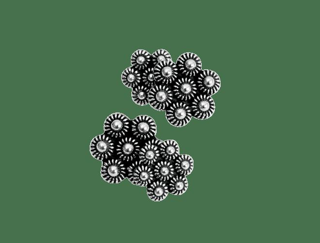 Mansjettknappar, oksidert