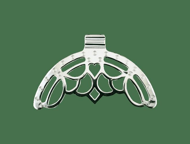 Agder veskebøyle, sølv oksidert