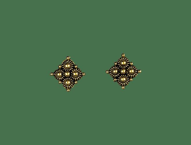 Telemark øyrepynt, gamalforgylt