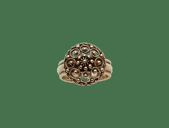 ring, gamalforgylt