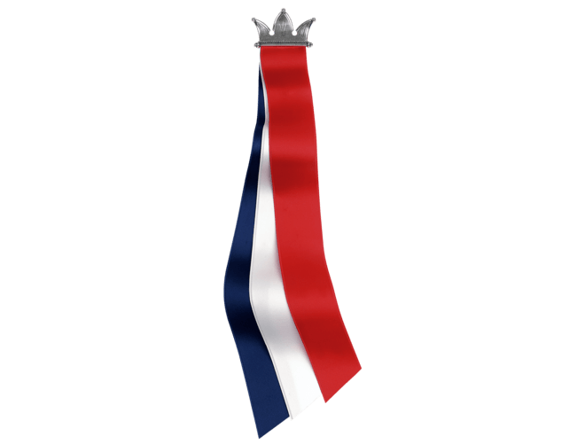 17.mai-sløyfe krune, oksidert