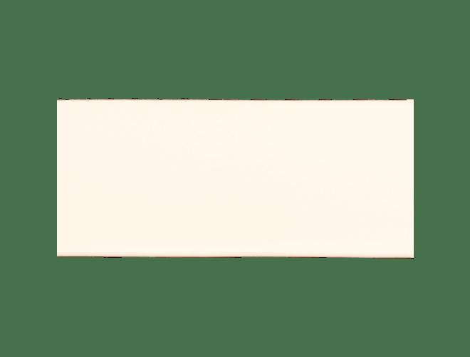Skinnlist, 4 cm, kvit