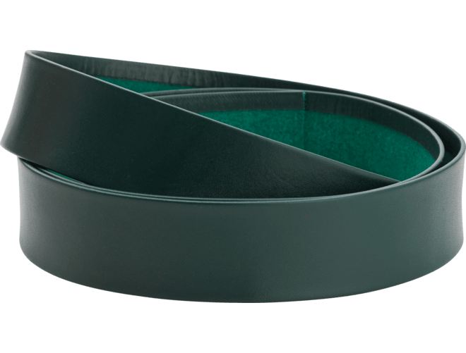 Skinnlist 4 cm, grøn