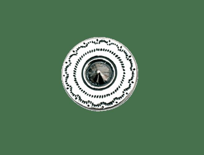 Knapp Lutro Hardanger 16 mm, oksidert