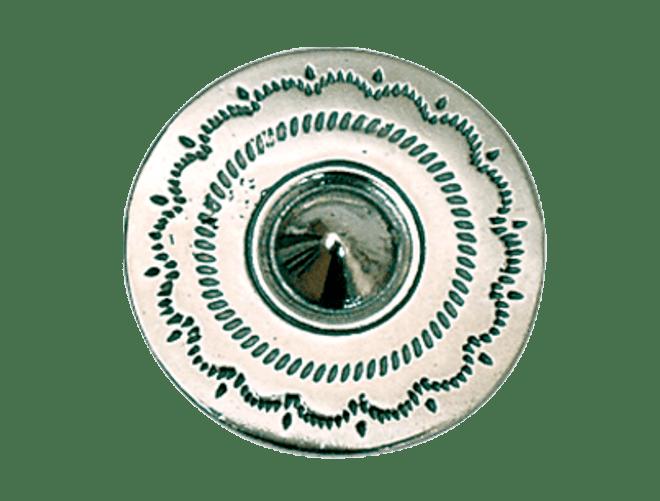 Knapp Lutro Hardanger  21 mm, oksidert