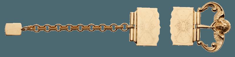 Sprettebelte - justerbar sølvbelte - Sylvsmidja