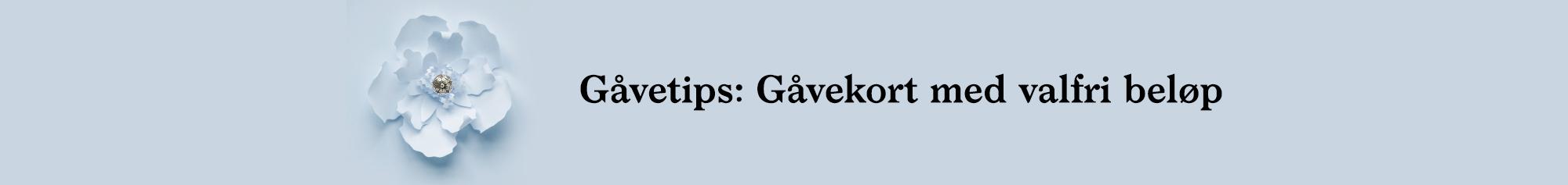 Gavekort - Bunadsølv frå Sylvsmidja