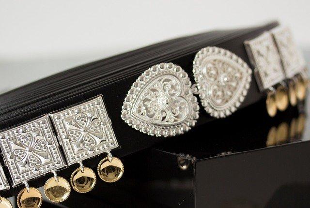 Komplett sølvbelte